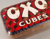 Vintage Tin OXO Stock Cubes Kitchenalia Advertising