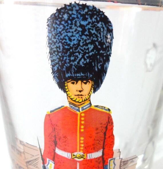 Vintage London Souvenir Mug Queen's Guard