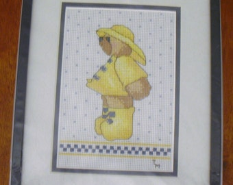 Bear in Rain Suit