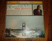 FREE SHIPPING Tony Bennett I Left My Heart In San Francisco LP Record Vinyl