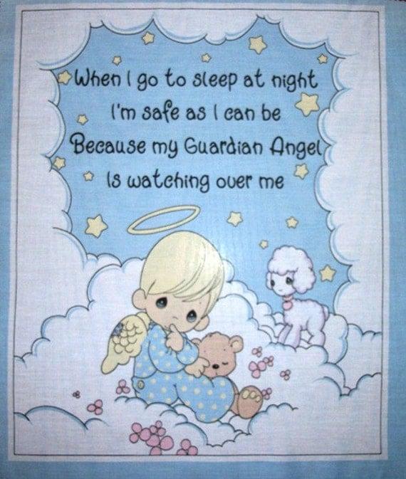 Precious Moments Baby Wall Hanging Fabric