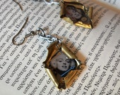 Reserved for Antonis P-Happy Birthday Miss Marilyn Monroe earrings FREE shipping
