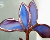 Free Standing Purple Iris