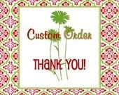 Custom Listing for Natalie Thomas
