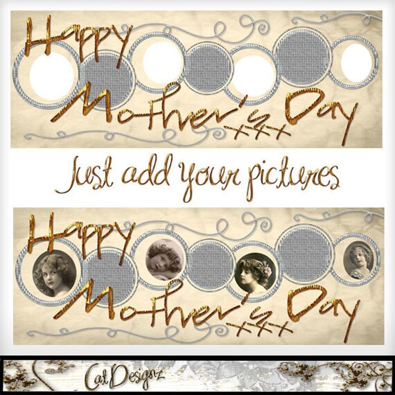 Facebook Timeline Template Mother's Day
