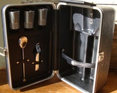 Vintage Travel Bar Case  Lovely Fun
