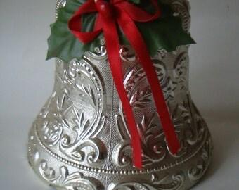 Vintage Filigree Large Bell Silver Sweet