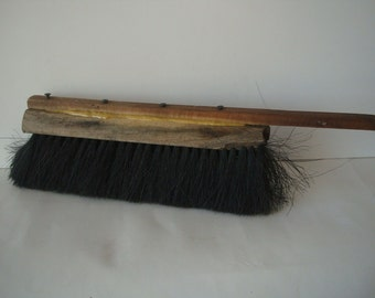 Vintage Wooden Broom Primitve Barn or factory Broom