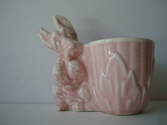 Vintage Scotty or Scottie Dog Pink 1950s or 60's Cute Cute