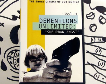 Dementions Unlimited - Suburban Angst DVD - outsider art, psychotronic, cult, experimental short films