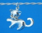 Solid 925 Sterling Silver Simba Lion King  Chram P-5477