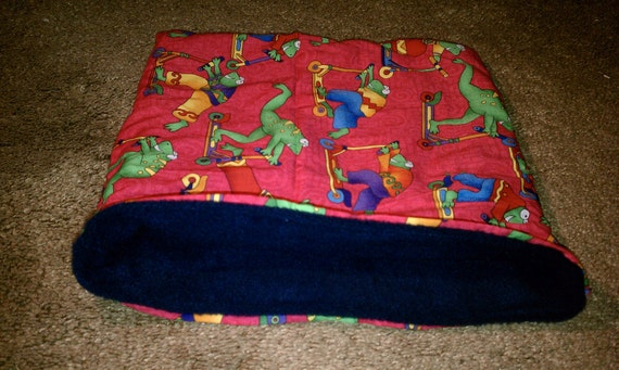 Reserved Listing BLOWOUT SALE Froggy pet cuddle sack. Medium.