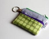 Keychain Zipper Wallet