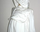 SALE Handmade Christening Romper Suit