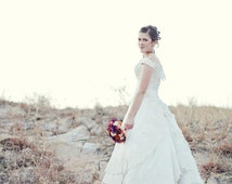 Rennaissance - Handmade Beaded Lace Bridal Gown