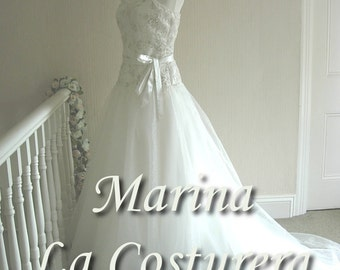 ON SALE 'Marina' Handmade Bridal Gown