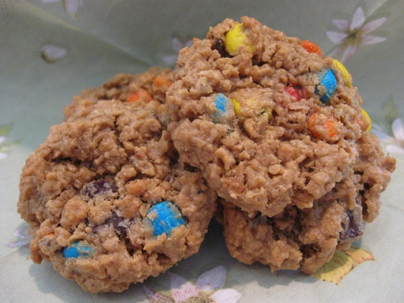 Cookies Monster, M & M Cookies