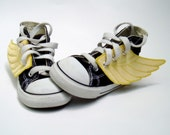 Superhero Shoes- Yellow Wings