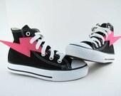 Superhero Shoes- Pink Lightning
