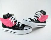 Superhero Shoes- Pink Wings