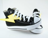 Superhero Shoes- Yellow Lightning