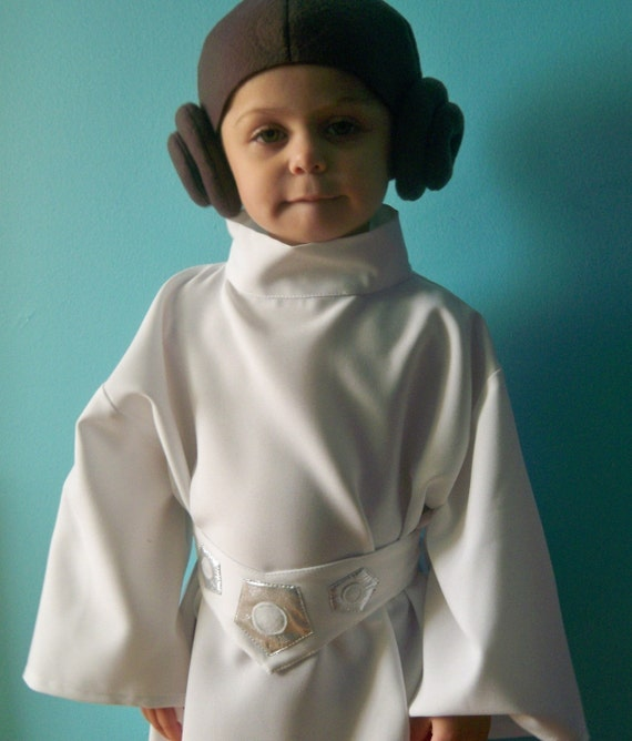 PRINCESS LEIA COSTUME - 2T, 3T, 4T, 5T