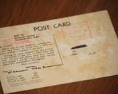 Old Hollywood Postcard of Deanna Durbin 1940