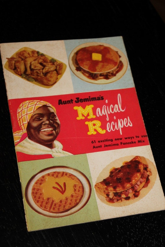 Aunt Jemima's Magical Recipes 1952 Vintage Book