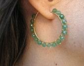 Halie Hoop in Jade