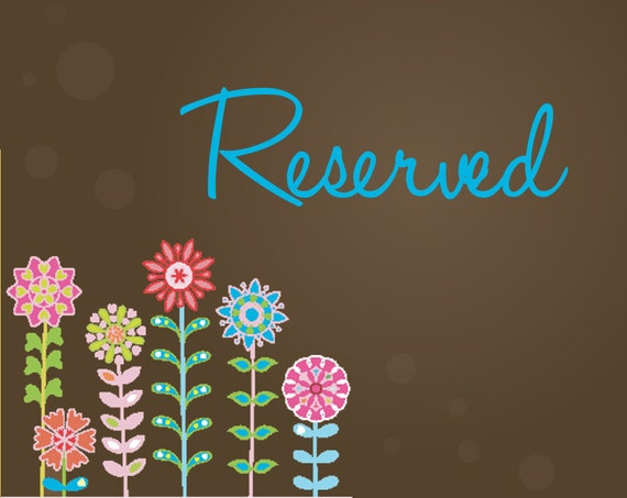 Reserved for Julia
