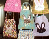 Quilted Bunny Treat Bags