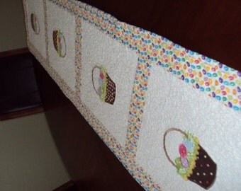 Quilted Easter Table Runner