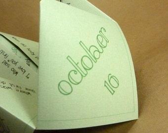 Wedding Mad Lib Cootie Catcher (PDF - PRINTABLE)