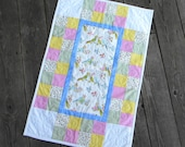 Custom Made Just For Your Baby Quilt in TWO Sizes, Crib Quilt 56 x 44 or Pram-Bassinet Quilt 31 x 20 inches