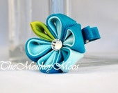 Blueberry Moonlit - A Posh Twist on Hair Accessories- For Little Girls