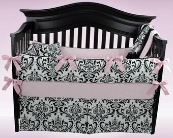 Emily- light pink- 5 piece bedding set