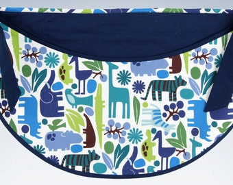 SALE! Austin collection toy bag| Zoo Animals Nursery
