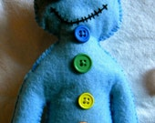 Made-to-Order Chakra/Reiki Voodude Poppet for Healing