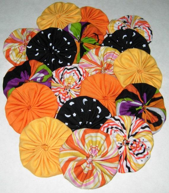 "YoYo Halloween Fall Embellishments Or Accessories 2"" Size"