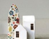 Folk Miniature Wood Town
