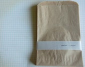 Large Kraft Paper Bags -- Set of 20