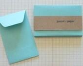 Pool Mini Envelopes -- Set of 10