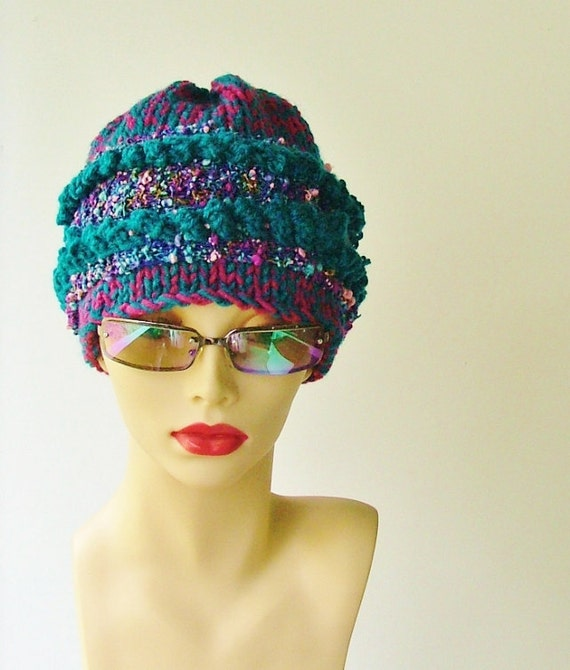 Raseberry Turquoise Blue Hat