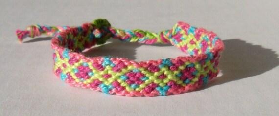 Friendship Bracelet - Spring Colors
