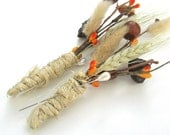 HARVEST BOUTONNIERE- SET of 2 Wheat Buttonhole Rustic for Weddings Mens Wedding Buttonhole