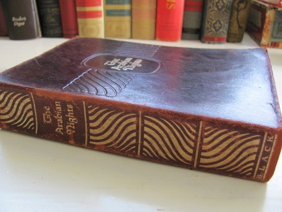 RESERVED FOR BRANDON-Vintage 1929 book The Arabian Nights