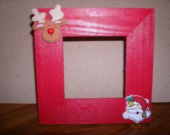 2.5X2.5 inch Christmas picture frame