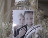 Personalized First Christmas Together Ornament - Wedding - Bride and Groom