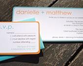Modern Wedding Invitation (Sample)