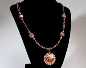 Cloisonné Circle necklace  2009